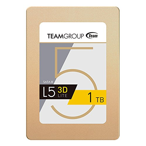 TEAMGROUP L5 3D 480GB 2.5 Inch SATA III Solid State Drive SSD 3D NAND (Read/Write Speed up to 470/420 MB/s) T253TD480G3C101