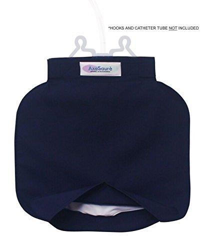 AxeSaurè Catheter Bag Cover, Blue