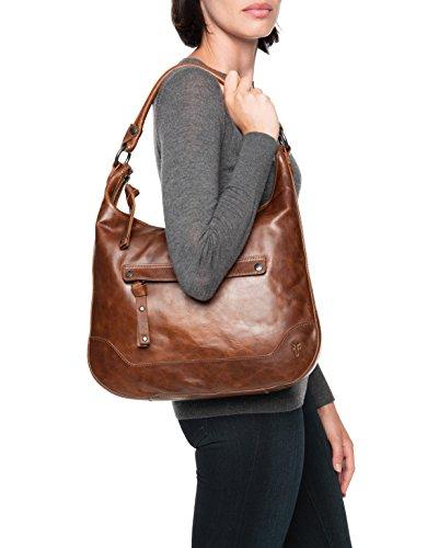 Handbag Cognac Hobo Melissa Leather FRYE Zip ZIx1R