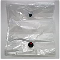 Homemade Wine Making Supplies: 7.5 litre plastic wine bags with dispensing tap 9 pack (Compatible with WINE-ON-TAP or can be simply used in any dispensing box) Great Price!