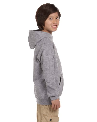 Hoodie Kids 2008 - Champion Youth Pullover Hooded Sweatshirt, Light Steel, Small