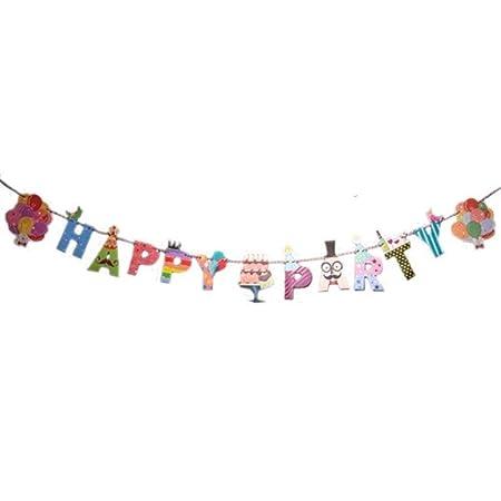 Nuevo! 1 Pieza de Dibujos Animados Feliz cumpleaños/Fiesta ...