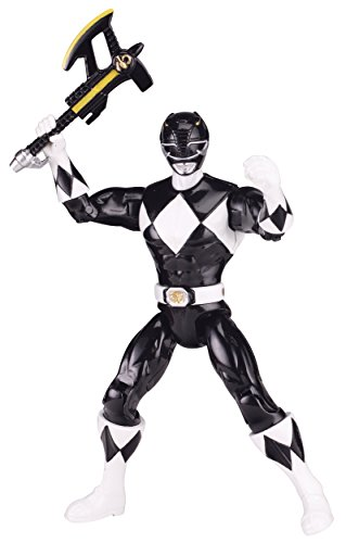 Power Rangers Legacy Mighty Morphin 5-Inch Black Ranger Action Figure (Mighty Morphin Power Ranger Helmet)