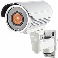 Honic 1080P (TVI/AHD/CVI/1200tvl) 2.8-12mm Varifocal HD Security Camera, 2MP Sony EXMOR Sensor Zoom IR CCTV Cameras, Outdoor Waterproof Day Night Vision Analog Camera for Home Video Surveillance