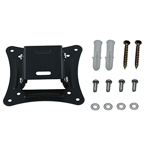 Plasma Mount Vesa (HuntGold Tilting & Swivel TV Wall Mount Bracket LED LCD Plasma 14 16 19 20 22 24 26 Inch)