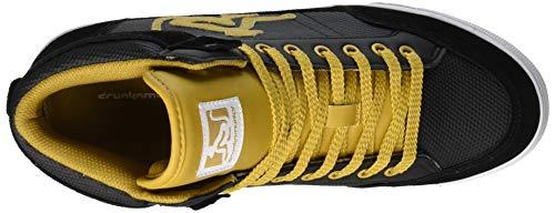 014 Alto Nero Sneaker Vitaminix Yellow A black Collo Uomo Drunknmunky Boston qvXpWwXf