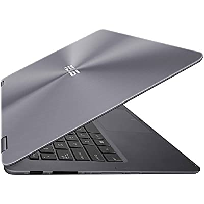 2017 ASUS ZenBook Flip 2-in-1 13.3-Inch Full HD Touchscreen Premium High Performance Laptop PC, Intel Core m3-7Y30 Processor, 8GB RAM, 256GB SSD, Bluetooth, HDMI, Windows 10, Gra