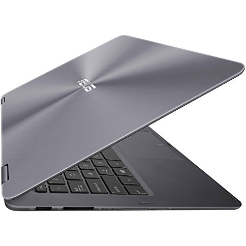 Price comparison product image 2017 ASUS ZenBook Flip 2-in-1 13.3-Inch Full HD Touchscreen Premium High Performance Laptop PC, Intel Core m3-7Y30 Processor, 8GB RAM, 256GB SSD, Bluetooth, HDMI, Windows 10, Gra