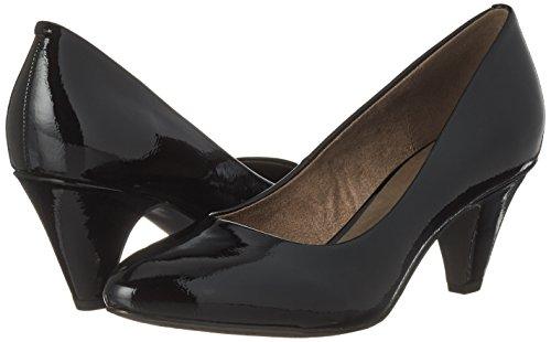 Tamaris 22416 black Femme Escarpins Patent Noir 1qz61xB
