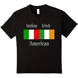 Kids Italian Irish American t-shirt 8 Black