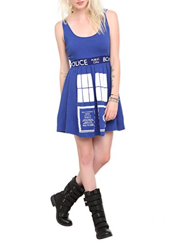 Doctor Who Her Universe TARDIS Costume Dress (Hot Topic Doctor Who)