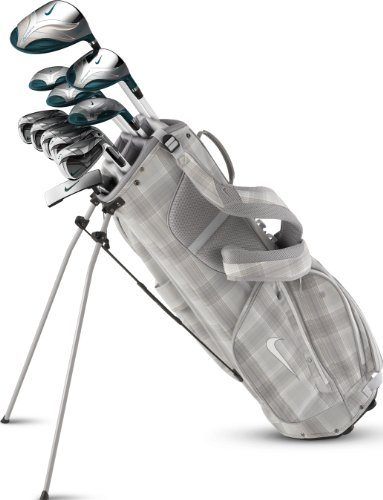Nike Golf Women's Verdana Iron Bag Complete Set (11-Piece), Standard, Right Hand, Graphite, Ladies, Outdoor Stuffs