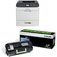 Lexmark MS810n Monochrome Laser Printer with 2 Mono Toners
