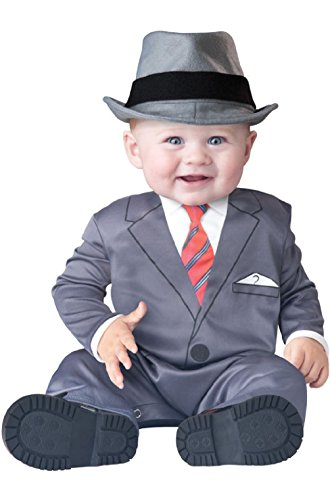 Baby Business Mob Boss Gangster Infant/Toddler (Infant Gangster Costume)