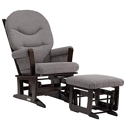 (Dutailier Modern 0349 Glider chairwith Ottoman Included)