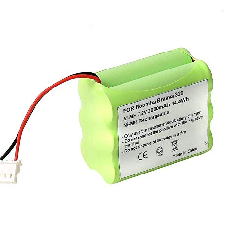 FUZADEL 7.2v Ni-Mh Battery for Mint 4200 4205 GPHC152M07 Bat