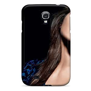 Awesome TQZKMWz2008PuqmG LisaMichelle Defender Tpu Hard Case Cover For Galaxy S4- Brunettes Women Flowers Stars Models Black Background Flower