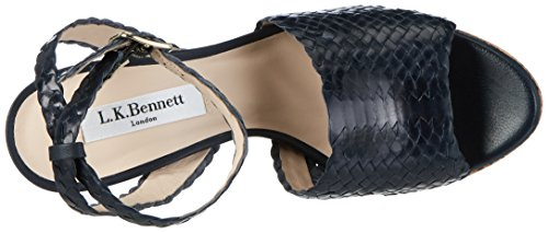 LK BENNETT Damen Margot Pumps Blau (NIGHTSHADOW)