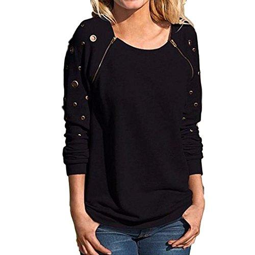 zipper detail sweater - 6