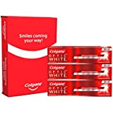 Colgate Optic White Whitening Sparkling Mint Toothpaste, 5 Ounce, 3 Count