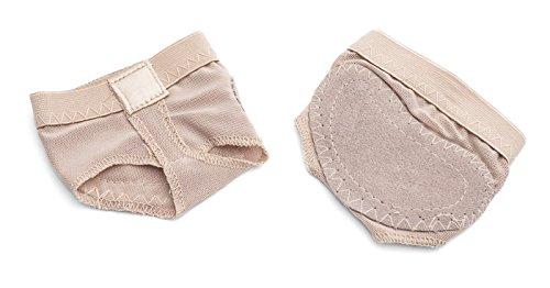 Ladies Full Sole Nude Ballet Dance Foot Thong Protector One Size UK 4-7 By Katz Dancewear
