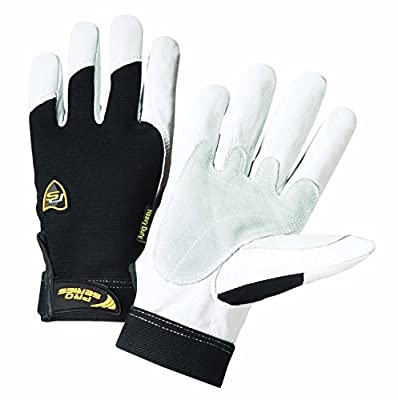 Iron Cat 86552/2XL Heavy Duty Grain Goat Gloves with 360 Degree Kevlar Lining, (Pack of 2)
