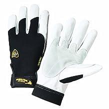 IRONCAT 86552 Heavy Duty Grain Goat Gloves with 360 Degree Kevlar Lining,