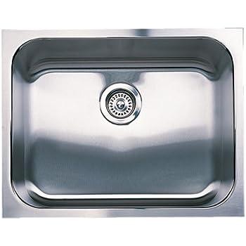 Blanco 501 104 Spex Single Bowl Undermount Kitchen Sink, Satin Finish