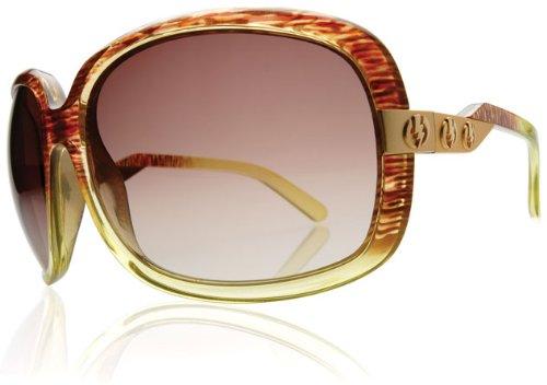 Electric Visual Hightone Spanish Moss/Brown Gradient - Sunglasses Moss