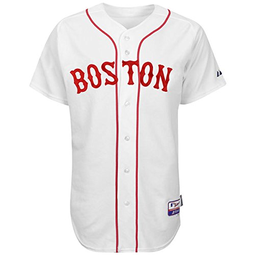 Majestic Cool Base Boston Red Sox Alternate White Jersey (48 - XL)