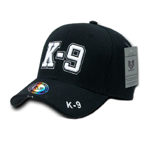 Rapid Dom Justice Department 3D High Definition Baseball Caps Hats JW K9
