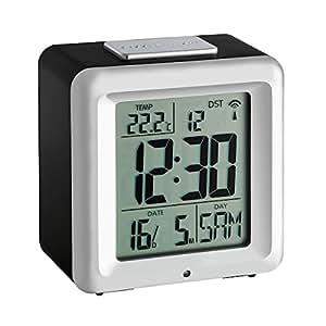 TFA 60.2503 - Reloj despertador digital con termómetro