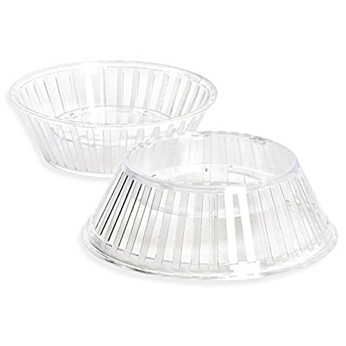 DECORA 5Piezas Cristal Plástico Soporte para Huevos, 123x 46mm, Multicolor, 5Piezas 5230322