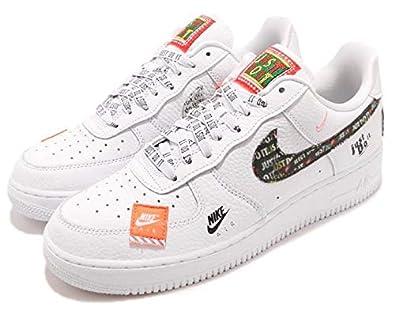 M.B Creation Airforce 1 Men's White Fabric Shoes 10 UK: Buy
