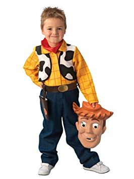 112d5909a Toy Story  Woody  Deluxe Costume - Child s Fancy Dress - Medium ...