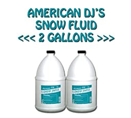 American DJ Snow Juice 2 Gallons Water Based Fluid