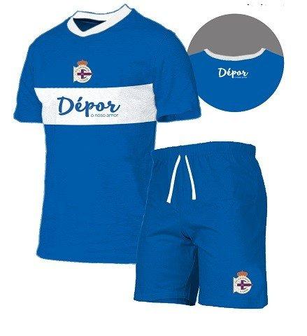 FUTBOL Pijama Real Club Deportivo de la Coruña niño - 12 ...