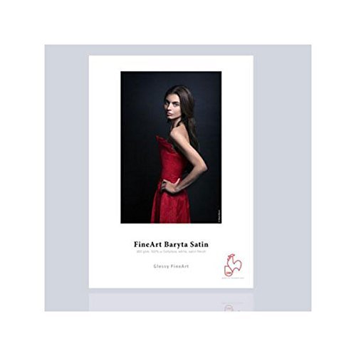 Hahnemuhle Baryta Paper Satin 8.5x11 in, 25 Sheets by Hahnemuhle