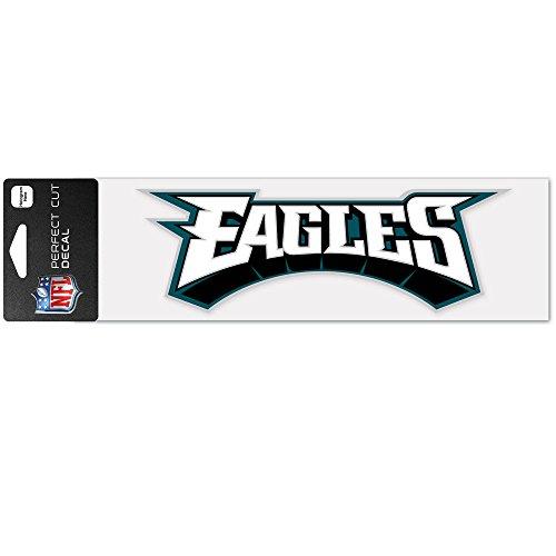 Wincraft Philadelphia Eagles Decal - WinCraft NFL Philadelphia Eagles WCR49163014 Perfect Cut Decals, 3