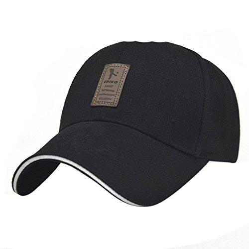 17c55f583cb LUFA Pure Color Men s Cotton Outdoor Sport Baseball Cap Casual Sun Hat -  Buy Online in Oman.