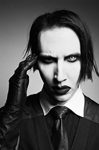 Marilyn Manson Spun Silk Fabric Cloth Wall Poster Print