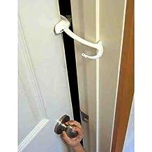 Door Monkey, Childproof Door Lock & Pinch Guard, Pack of 3 by Door Monkey