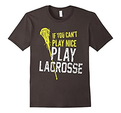 Funny Lacrosse shirts Gift Boys/Girls/Men/Women Player