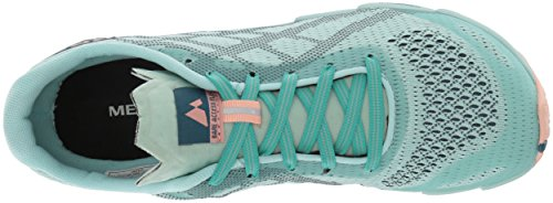 Women's Mesh Access Merrell Course Chaussure Blue Bare Flex E SS18 Trial xpHnA