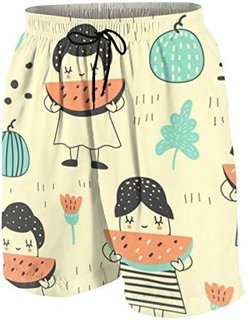 キッズ ビーチパンツ かわいい 女の子 スイカ サーフパンツ 海パン 水着 海水パンツ ショートパンツ サーフトランクス スポーツパンツ ジュニア 半ズボン ファッション 人気 おしゃれ 子供 青少年 ボーイズ 水陸両用