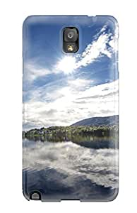 Hot Tpye Mirror Lake Case Cover For Galaxy Note 3