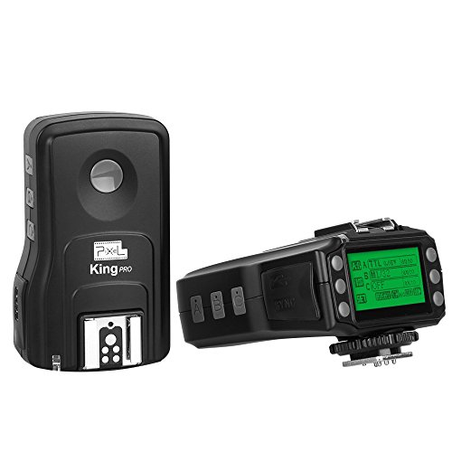 Pixel King Pro Kit Professional Speedlite 3 Generation Wireless E-TTL Flash Trigger for Canon DSLR Digital Camera 1D 5D 7D 10D 20D 30D 40D 50D by Pixel