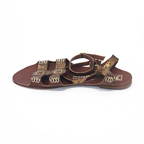 Juicy Couture y pedrería para mujer con, estándar del Reino Unido 3,5, de £110 marrón - bronce claro