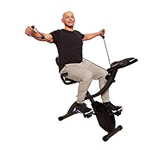 Well-Being-Matters 41Gc2dF28QL._SS300_ As Seen On TV Slim Cycle Stationary Bike by Bulbhead, Most Comfortable Exercise Machine, Thick, Extra-Wide Seat & Back…