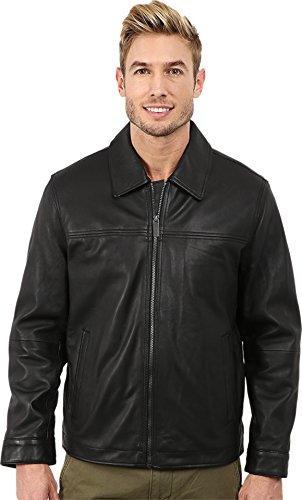 perry-ellis-mens-lamb-zip-front-open-bottom-black-outerwear-xl